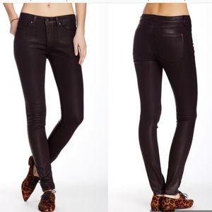 Spanx Slim X Skinny coated jeans